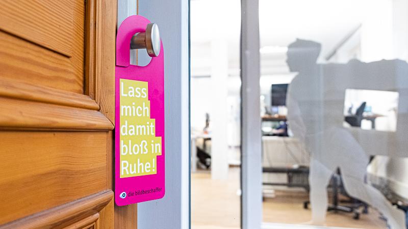 Eingang Vorwerkstraße: Willkommen bei den Bildbeschaffern!